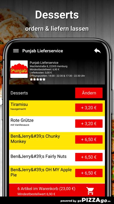 Punjab Lieferservice Hamburg screenshot 6