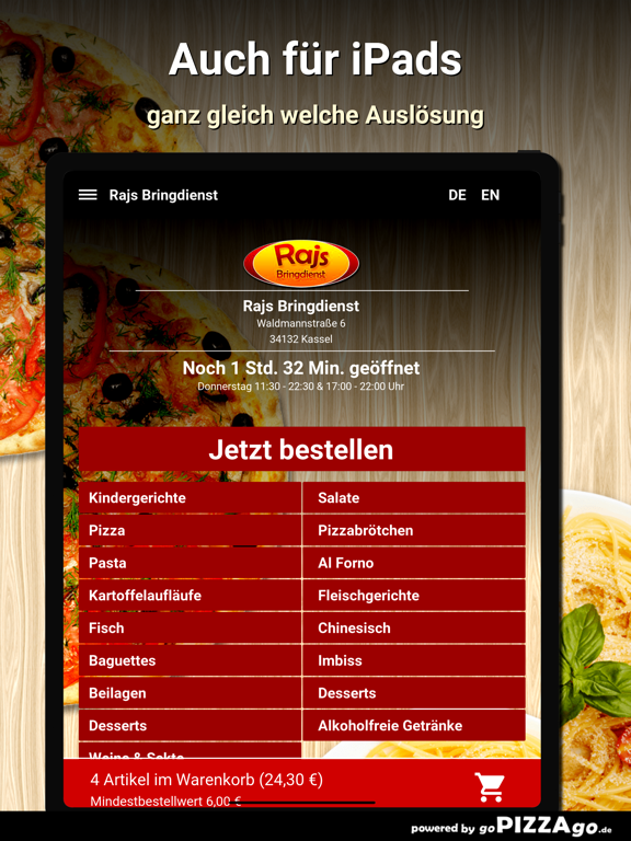 Rajs Bringdienst Kassel screenshot 7