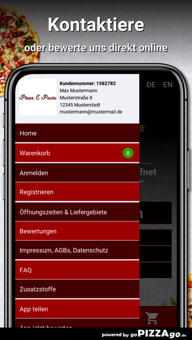 Pizza e Pasta Berlin screenshot 3
