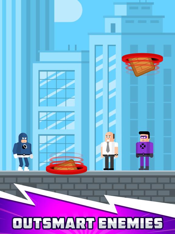 The Superhero League iPad app afbeelding 5