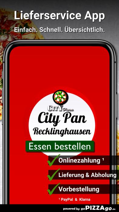 City Pan Pizza Recklinghausen screenshot 1