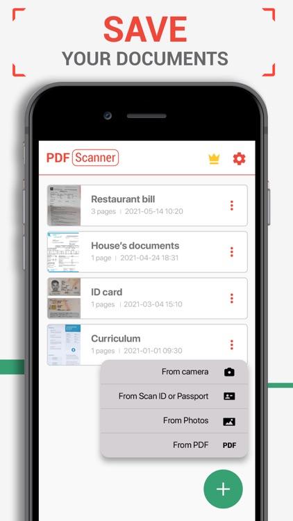 PDF Scanner - Scan Documents screenshot-6
