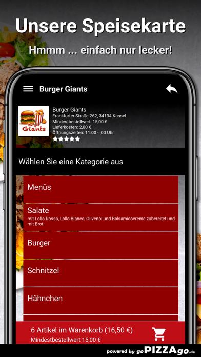 Burger Giants Kassel screenshot 4