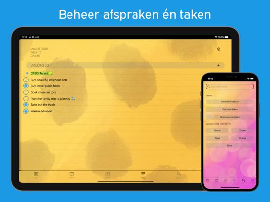 PaperCal iPad app afbeelding 2