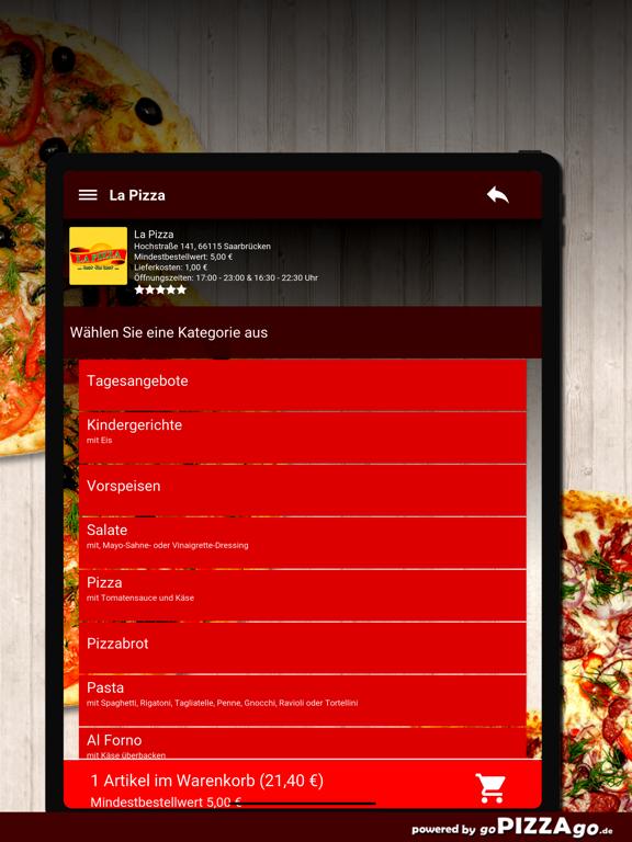La Pizza Saarbrücken screenshot 8