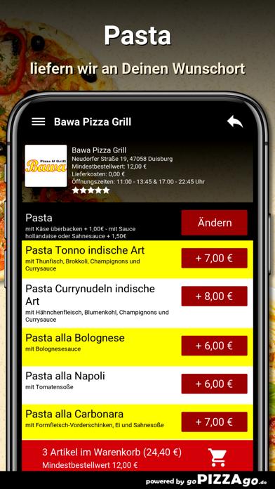 Bawa Pizza Grill Duisburg screenshot 6