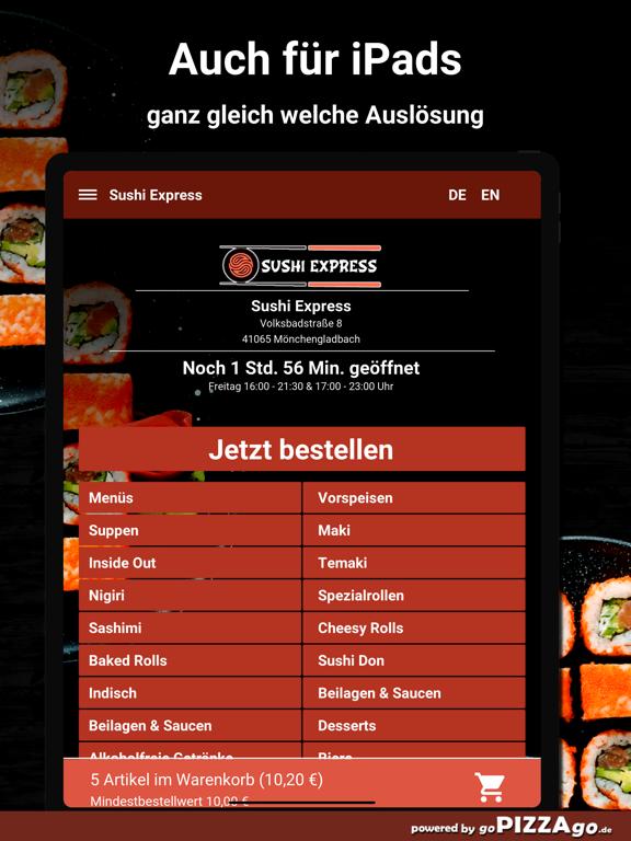 Sushi Express-Mönchengladbach screenshot 7