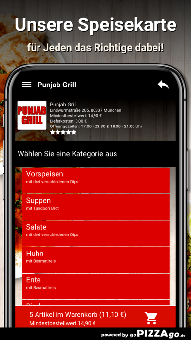 Punjab Grill München screenshot 4