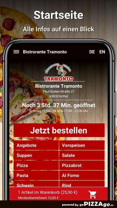 Bistrorante Tramonto Kriftel screenshot 4