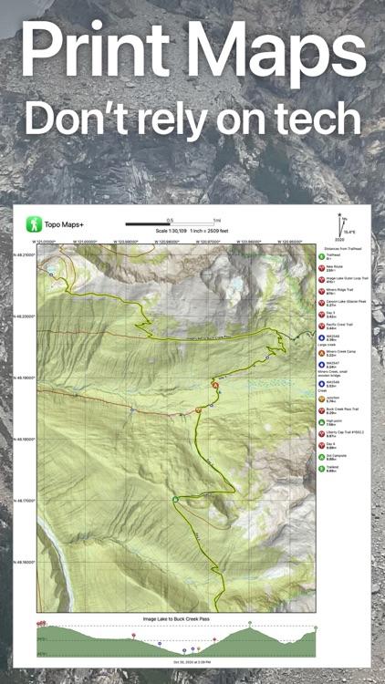 Topo Maps+ screenshot-4