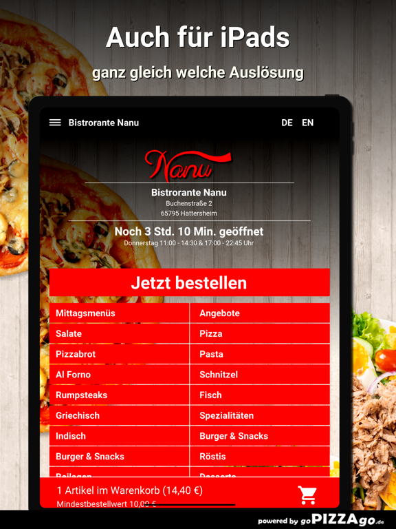 Bistrorante Nanu Hattersheim screenshot 7