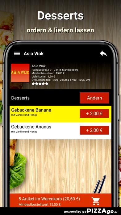 Asia Wok Markkleeberg screenshot 2