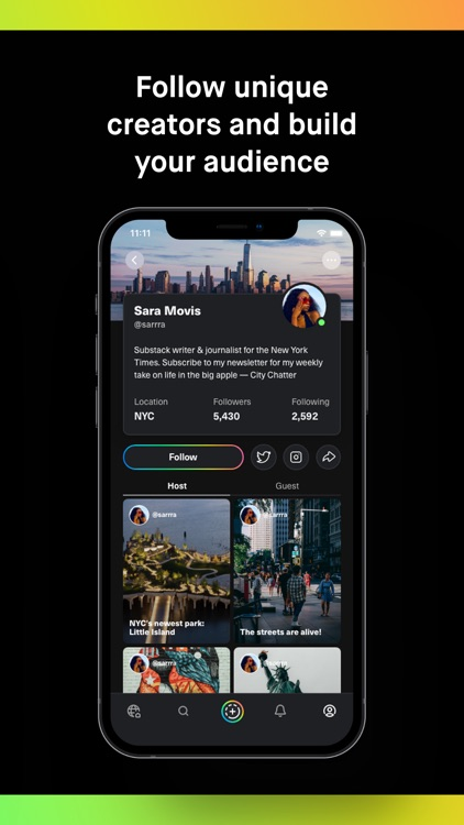 Lava: Social Audio screenshot-3