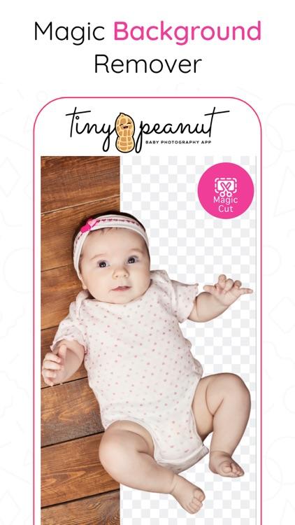 Tiny Peanut: Baby Photo Editor screenshot-3