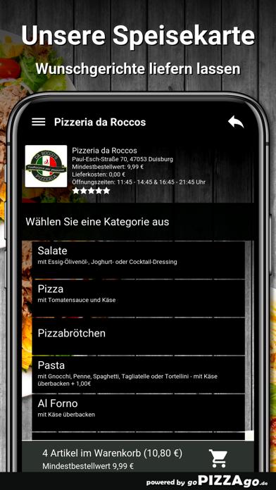 Pizzeria da Roccos Duisburg screenshot 4