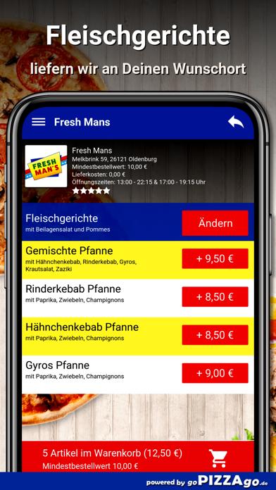 Fresh Mans Oldenburg screenshot 6