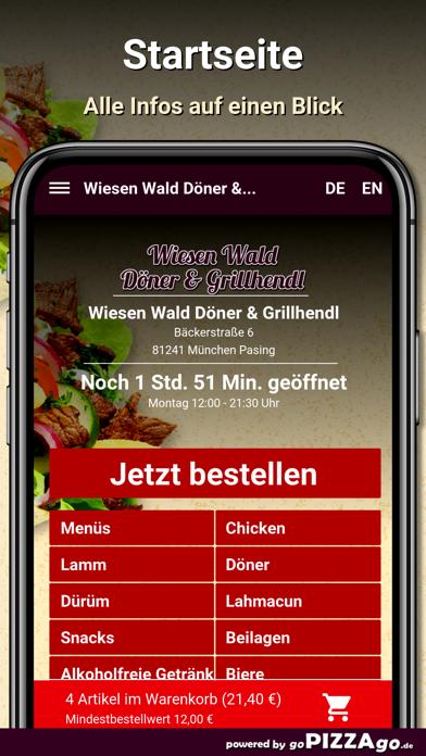 Wiesen Wald Döner screenshot 2