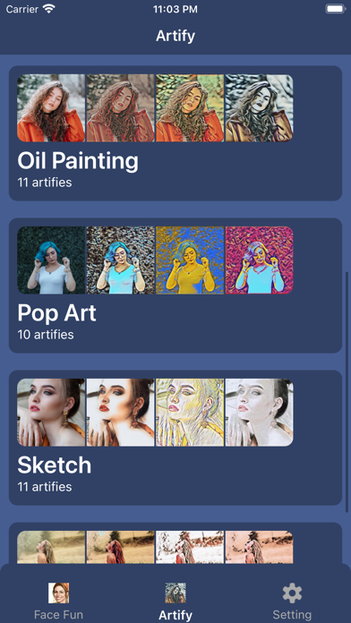 Face AI: Artist Cartoon makerのおすすめ画像7