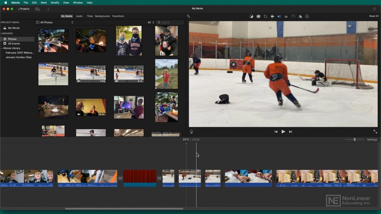 In Depth Course for iMovie