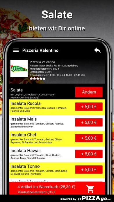Pizzeria Valentino Magdeburg screenshot 5