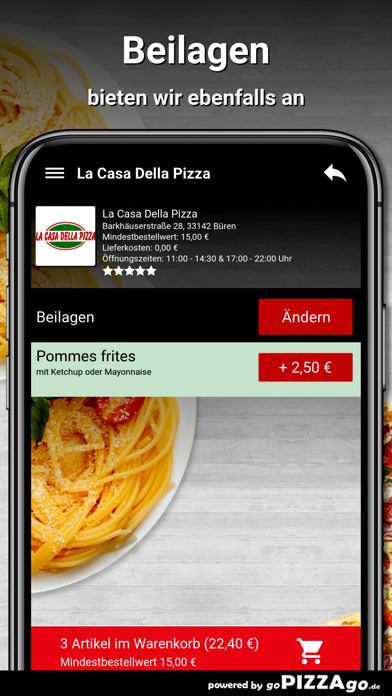 La Casa Della Pizza Büren screenshot 6