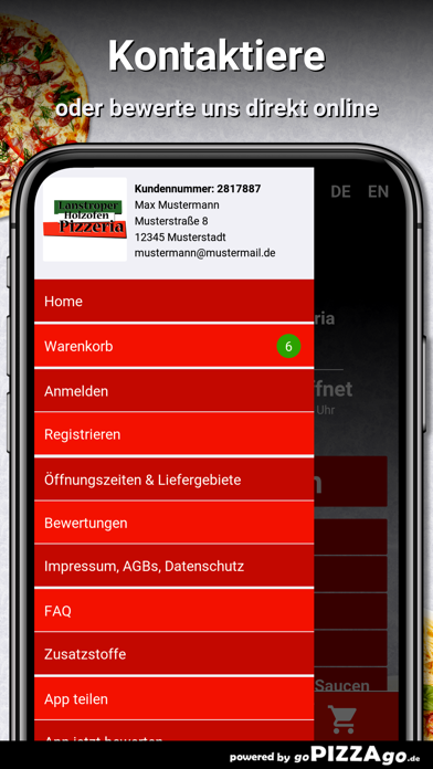 Lanstroper Pizza Dortmund screenshot 3