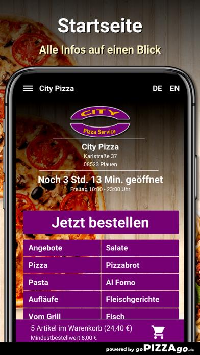 City-Pizza Plauen screenshot 2