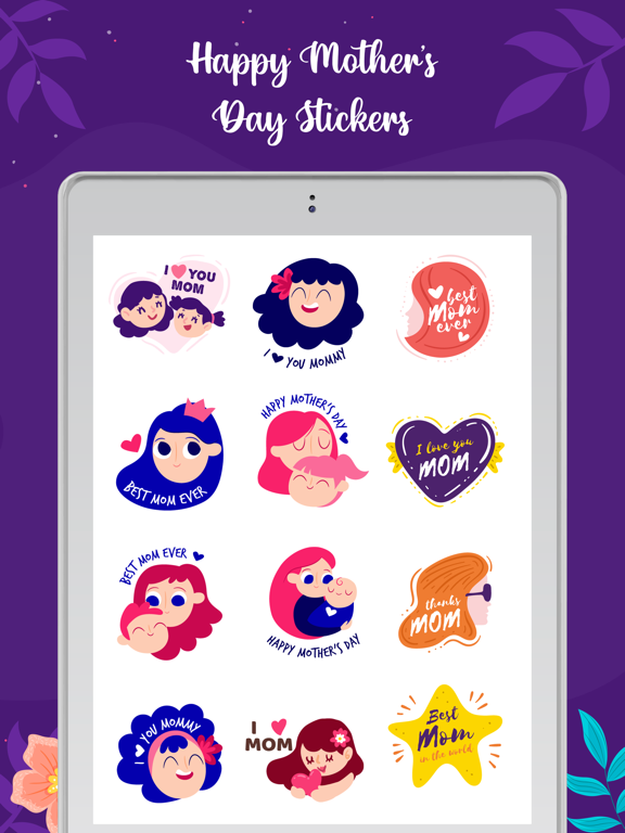 Mother's Day Stickers! screenshot 6