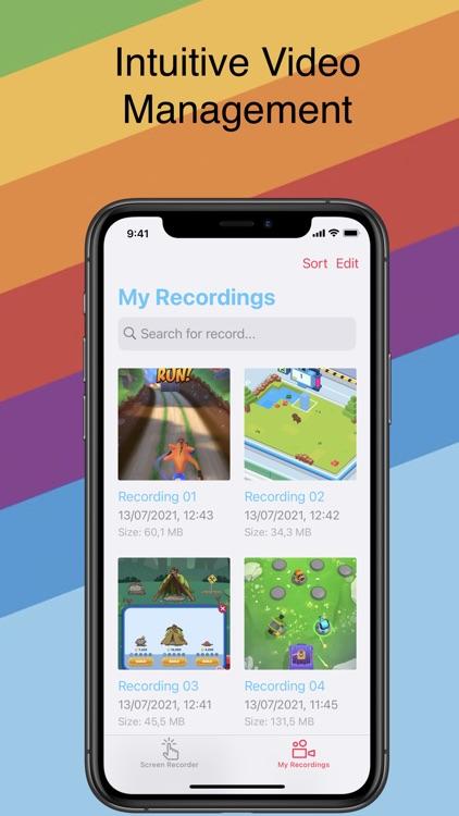 Screen Recorder - Clips Editor screenshot-3