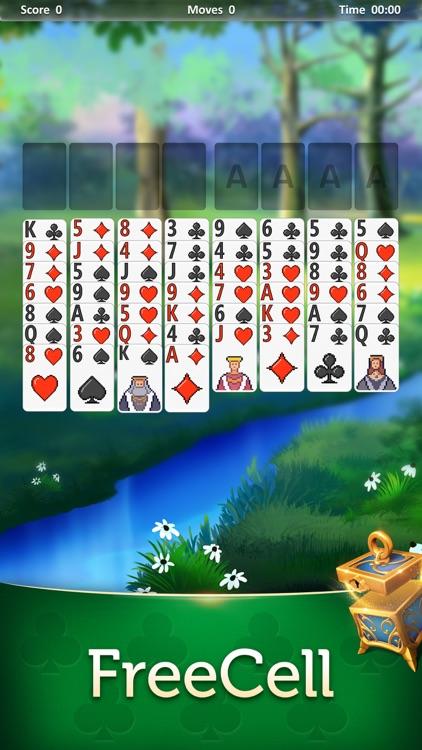 Magic Solitaire: Card Games screenshot-6