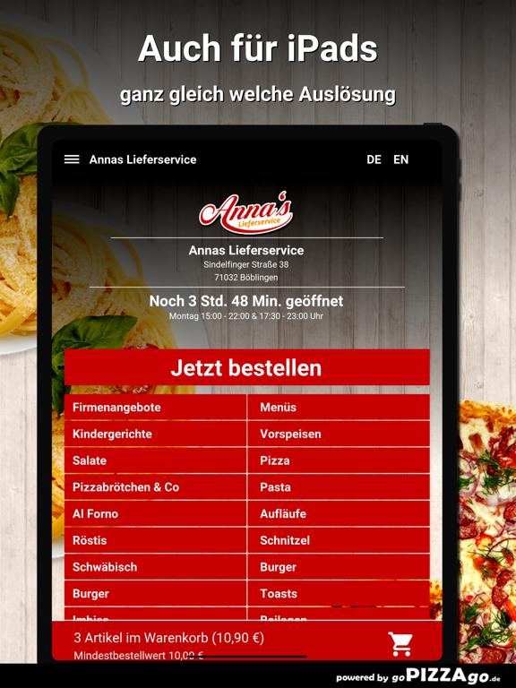 Annas Lieferservice Böblingen screenshot 7