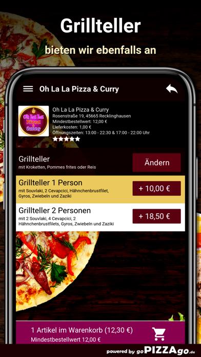 Oh La La Pizza Recklinghausen screenshot 6