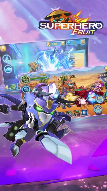 Superhero Fruit: Robot War screenshot-4