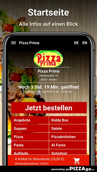 Pizza Prima Herten screenshot 3
