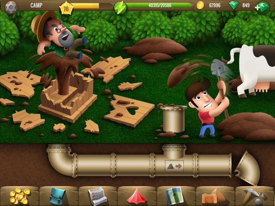 Diggy's Adventure: パズルゲームのおすすめ画像1