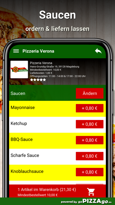 Pizzeria Verona Magdeburg screenshot 6