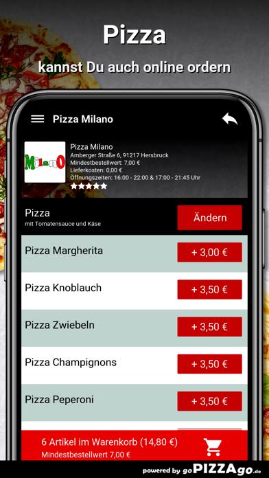 Pizza Milano Hersbruck screenshot 5