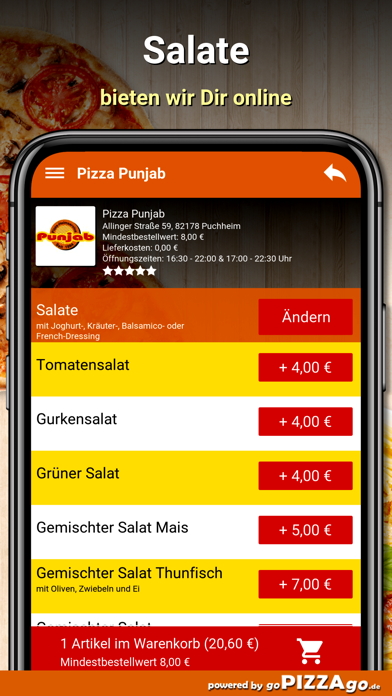 Pizza-Punjab Puchheim screenshot 5