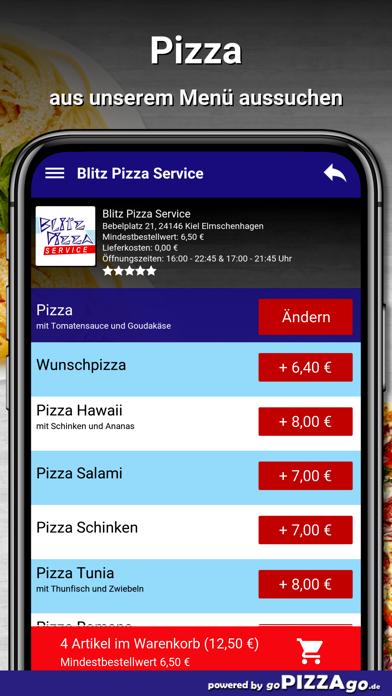 Blitz Pizza Kiel Elmschenhagen screenshot 5