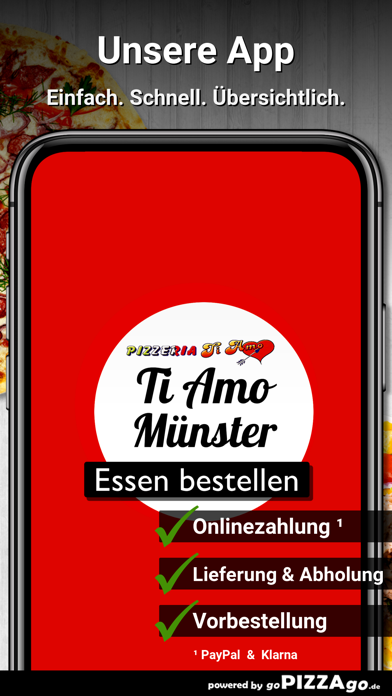 Pizzeria Ti Amo Münster screenshot 1