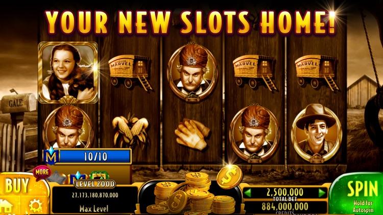 Wizard of Oz Slots Casino screenshot-0