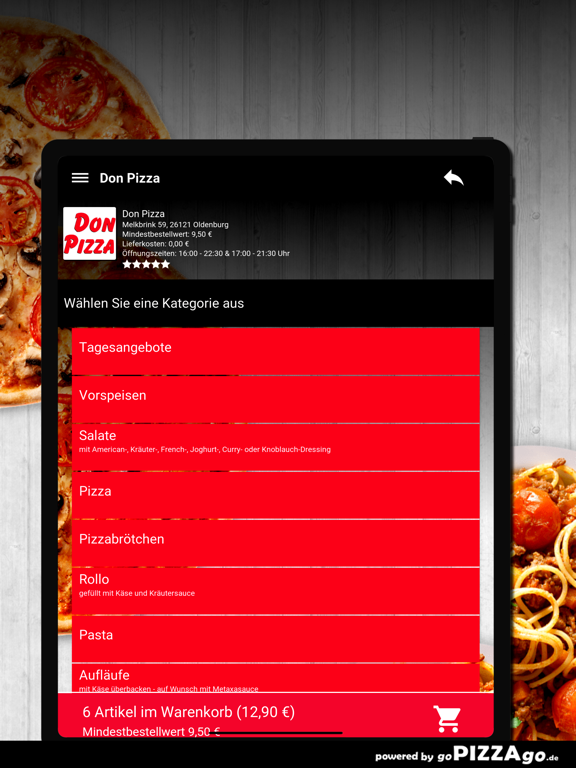 Don Pizza Oldenburg screenshot 8