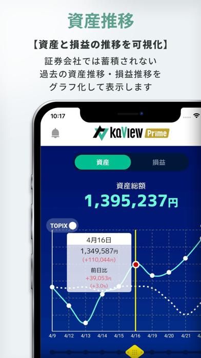 カビュウ - 株式投資管理・分析アプリ ScreenShot3