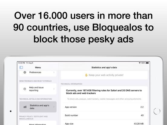 Bloquealos: Anti Ads Shield Screenshots