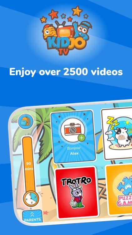 Kidjo: Kids TV & Video Channel screenshot-0