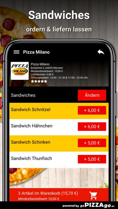 Pizza Milano Münster screenshot 6
