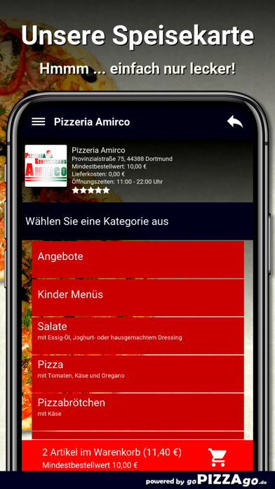 Pizzeria Amirco Dortmund screenshot 4