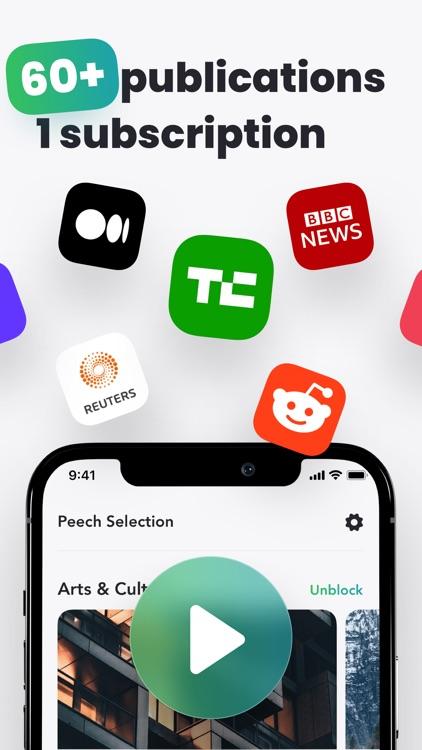 Peech: #1 Audio Text Reader