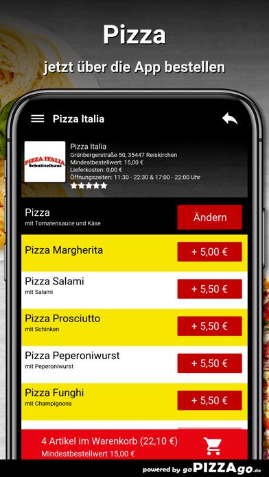 Pizza Italia Reiskirchen screenshot 5