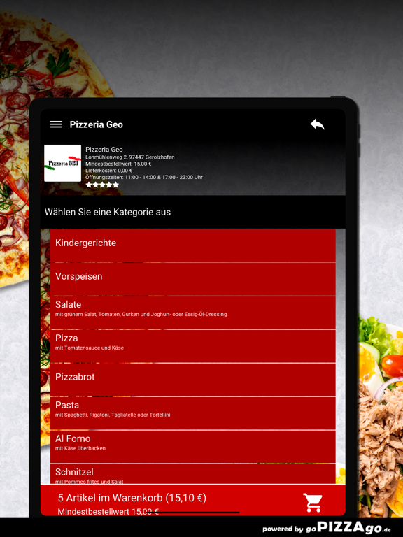 Pizzeria Geo Gerolzhofen screenshot 8